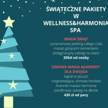Świąteczne Pakiety w Harmonii SPA & WELLNESS